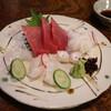環翠 - 料理写真:刺身3点盛り