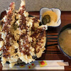 天ぷら桂 - 料理写真:天丼(みそ汁付き)¥950