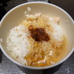 ひるがお - 辣油が美味しすぎて卵かけご飯にも投入