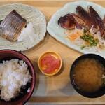 築地食堂 源ちゃん - 鰆定食1,080円
