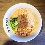 自家製麺ほうきぼし - 汁無し担々麺・880円