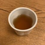 手打そば 乃田 - 蕎麦茶