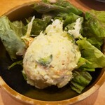 海鮮一番 - 自家製ポテトサラダ
