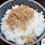 京料理 立神 - ジャコご飯