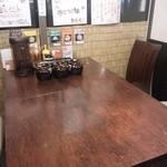 神虎 - 複数名ようのテーブル席もありました。