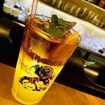 Coffee & Bar オレンジ ルーム - アイスオレンジティー