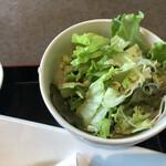 海鮮中華厨房 張家 北京閣 - 盛々サラダ