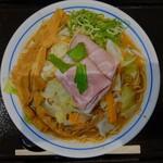 麺や庄の - 料理写真:2021年2月 野菜らぁめん 930円