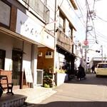 """148037759 - """"麺屋 煮干と鶏 ひんな""""さんは、京急線弘明寺駅そばの踏切から、程近いところにあります。"""
