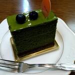 タカダヤ - 料理写真:抹茶オペラ