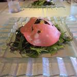 Casa Osano - 富士桜のポークハムのサラダ