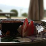 OFUKURO no CAFE - 料理写真:チョコテリーヌ