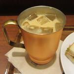 上島珈琲店 - アイス無糖ミルク珈琲