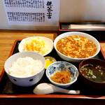 天上天 - 料理写真:麻婆豆腐定食