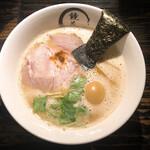 Kyouka - 鶏白湯味玉ラーメン(1250円)