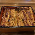 甲州 うなよし - 料理写真:竹 鰻重  立派な1.5匹^ ^