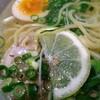 老麺魂 - 料理写真:レモン入り!