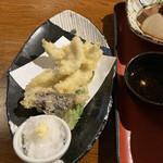 地魚料理 まるさん屋 - 穴子の天ぷら 650円税抜