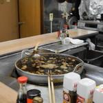 弁慶 - 料理写真:2012.9 串煮込みの大鍋