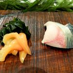 寿しの勘一 - 青柳と〆鯖