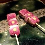 鴨とワイン Na Camo guro - 鴨串焼き むね肉
