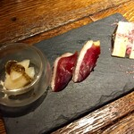 鴨とワイン Na Camo guro - 前菜