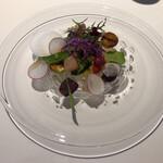cadre - 野菜の一皿