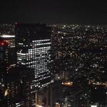 14809316 - 窓から新宿の夜景を望む