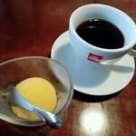 唐や - コーヒーとマンゴーシャーベット