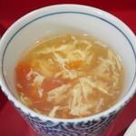 上海家庭料理 大吉 - トマトとたまごスープ