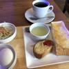富士美 - 料理写真:ブレンドコーヒー420円とAセットのモーニング