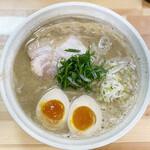 148098390 - 桐麺しょうゆ+味玉
