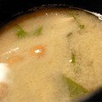 寅福 - 味噌汁