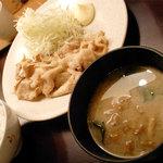 寅福 - 豚のしょうが焼き定食