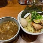 百日紅 - 特製濃厚つけ麺(大盛)