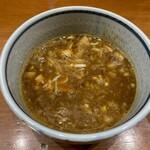 百日紅 - 特製濃厚つけ麺つけ汁