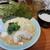 横浜家系ラーメン 魂心家 - 料理写真:豚骨みそラーメン・無料ライス