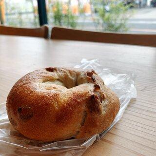 美味しいパンの店 Yamaguchi - 料理写真:ベーグルダブルチョコレート180円