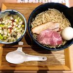 148119985 - 青唐辛子酸辛つけ蕎麦