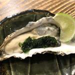 カキ酒場 北海道厚岸 - マルエモンLL 605円 海苔とレモンで食べると絶品!