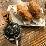 カキ酒場 北海道厚岸 - 牡蠣フライはふっくらぷりぷり!美味しいよ!