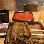 炭焼きうなぎの魚伊 - 鰻重(上)