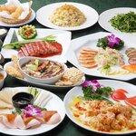 Chinese Dining ナンテンユー - 豪華【フカヒレ姿煮・鮑・北京ダック】飲み放題コース