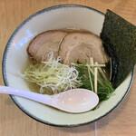 麺屋 神楽 - 淡麗塩そば
