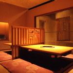 牛禅 - お座敷4名様×2席