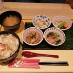 京菜味のむら - 朝食セット+湯葉丼 850円