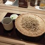中島康三郎商店 - お蕎麦は7種の塩でいただく