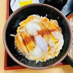 松美屋 - 今月のサービス品 カツ丼ざるセット カツ丼