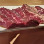 金沢文庫 肉汁センター - キレイなハラミでした。