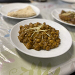カシミール - ほくほくのヒヨコ豆がたっぷり入ったチャナマサラ。